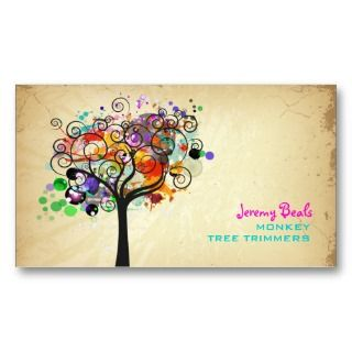 Grunge Tree Trimmers ♥♥♥♥ Business Cards