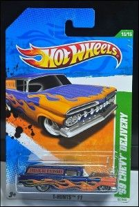 TREASURE HUNTS HOT WHEELS 2011 #15/15 59 CHEVY DELIVERY T HUNT