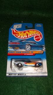 1997 MATTEL 18791 HOT WHEELS RACE TEAM SERIES IV 67 CAMARO 1 OF 4 MOC