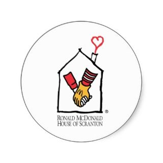 Ronald McDonald Hands Sticker