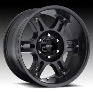 method race split six black wheels rims 6x135 +18 expedition 6 lug
