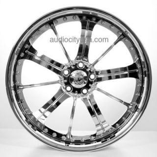 24 Forged 3pc Wheels and Tires for Camaro Range Rover Mercedes Custom