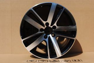 Volkswagen Touareg 20 Black Machine Finish Wheels Rims