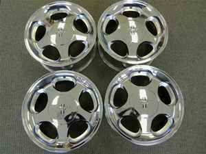 95 96 97 98 Ford Mustang Refinished Chrome 17 Rims Wheels Set