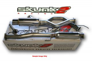 SKUNK2 Megapower RR 76mm Exhaust Catback 96 00 Honda Civic Hatchback