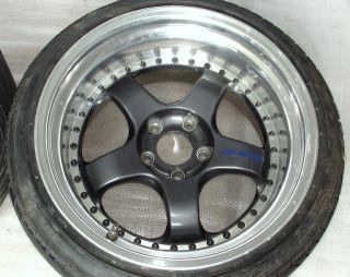 Work Meister S1 Alloy Wheels Rims 18 10J 11J 5x114 r33 RX8 R34 RX7