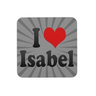 love Isabel Beverage Coasters