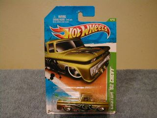 Hot Wheels 2011 Super Treasure Hunt 4 Custom 62 Chevy Pickup