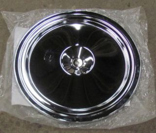You are bidding on a NEW 1973 75 Corvette Chrome Air Cleaner Lid. This