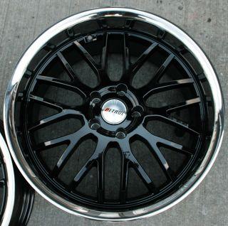 Petrol Vengeance 20 Black Rims Wheels E39 E60 5 Series