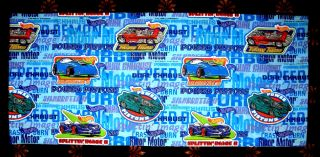 Mattel Boys Hot Wheels Valances 1997 New 18 x 84