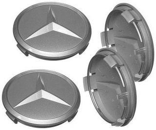 4 Hub Star Caps Mercedes Benz 450 500 SEL SL 116 126
