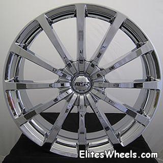 20x7 5 Chrome MSR 42 Wheels 5x100 5x4 5 40 Audi TT Nissan Sentra SE R