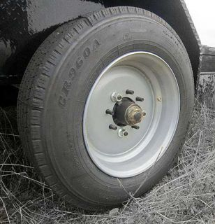 Truck Trailer RIM Grey Fits 215/75/R17.5 Tire 17.5 X 6.75, 8 X 6.5