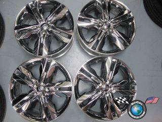 Ford Edge Factory Chrome Clad 20 Wheels Rims BT43 1007 Da 3847