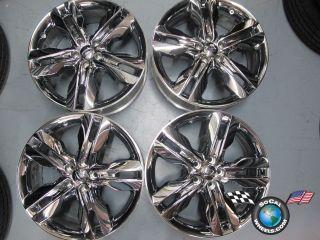 Ford Edge Factory Chrome Clad 20 Wheels Rims BT43 1007 Da 3847