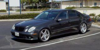 19 Avant Garde M550 Wheels Silver Mercedes E Class E320 E350 E500