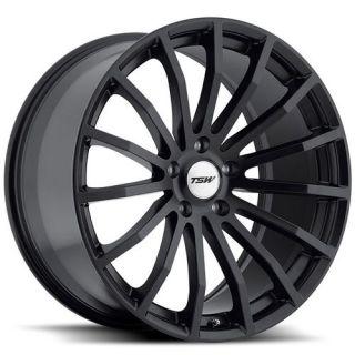 20 TSW Mallory 20x8 5 5x120 20 Matte Black Wheels Rim