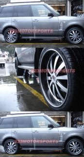 24 inch Wheels Redsport RSW77A Wheels Rims Truck Range Rover Ford GMC
