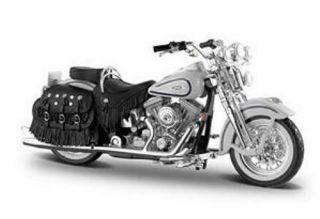 Harley Davidson Heritage Springer Hot Wheels Diecast 1 18 Scale