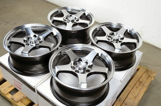 15 Effect Wheels Rims 4 Lugs Civic Corolla Legend Accord Lancer