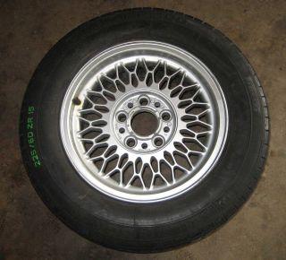 E32 Style 7 Mesh OEM 15 Alloy Wheel 89 95 525i 530i 540i 740iL 750iL