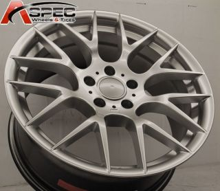 19 M3 Competition Silver Style Wheel Fit BMW E63 645 650 E65 740 745