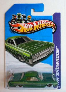 Hot Wheels 2013 191 HW Showroom 64 Lincoln Continental Mint on Card