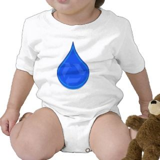 Conserve and Save Water Romper