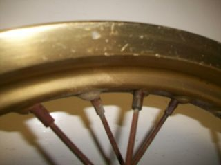 89 Yamaha XT 600 Rear Wheel Rim T14