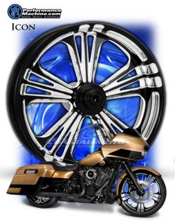 Machine Icon Motorcycle Wheels Harley Streetglide Roadglide