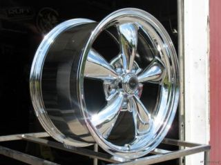 17x9 17x10 5 Chrome Torq Thrust M Wheels Rims 93 03 Camaro Firebird