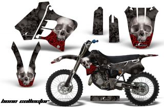 Plate Background Graphic Decal Kit Yamaha YZ 125 250 93 95 Bck