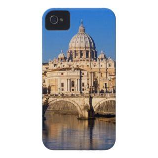SantAngelo Bridge and St. Peters Basilica Case Mate iPhone 4 Case