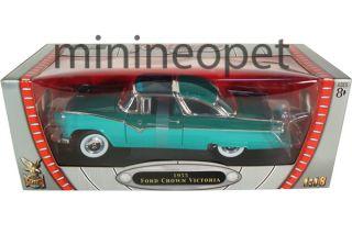 Yat Ming 1955 55 Ford Fairlane Crown Victoria 1 18 Diecast Green