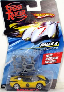 Hot Wheels Speed Racer 1 64 Racer x Street Car with Jump Jacks Movie