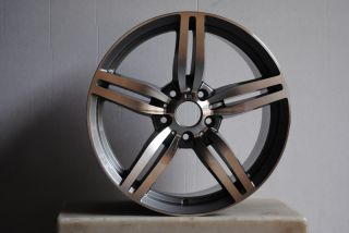 18 M6 Style Staggered Wheels 5x120 Rim Fit BMW 528i 530i 545i 2004