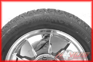 Silverado Tahoe LTZ GMC Yukon Sierra Chrome Wheels Tires 22 18