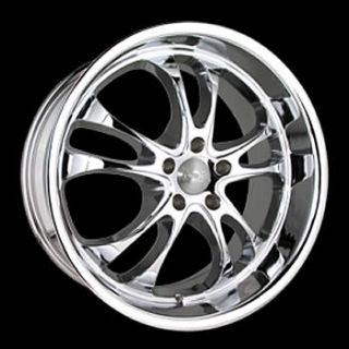 19x8 5 Chrome Sterling Wheels Rims 5x112