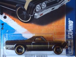 Hot Wheels 2011 Muscle Mania 68 El Camino New 104