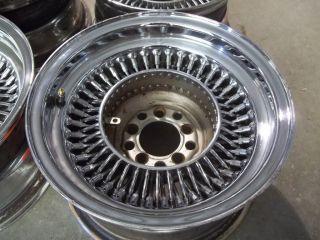 13x7 Wire 80 Spoke Steel Wheels Rims 5 Lug Lowrider Low Rider