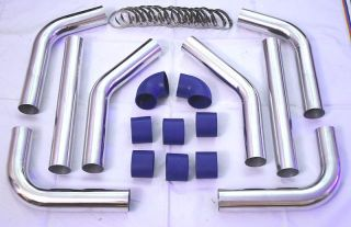 MK1 2 25 Starion Conquest Universal Turbo Intercooler Piping Pipe Kit