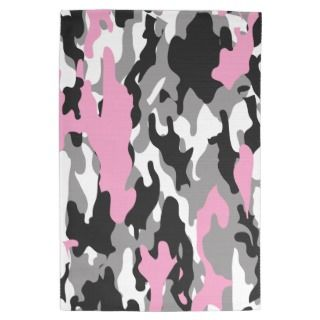 Pink Camo Kitchen Towels