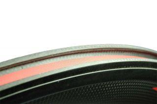 Token C50 Carbon Fiber Clincher Wheels Wheelset Red