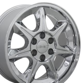 20 Chrome Avalanche Wheels 5234 Chevy Rims Fit GMC Cadillac Suburban