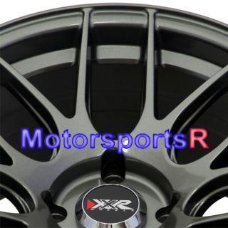 16 8 25 XXR 530 Gun Metal Concave Rims Wheels Stance 4x114 3 94 Honda