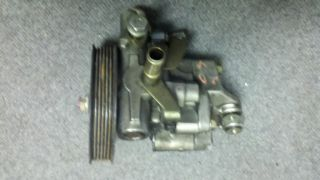 This OEM Power steering pump came off a 2001 GS430 We have parted out