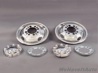 Wheel Simulator Stainless Steel 16 16 5 Dually 8 Lug Ford Chevy
