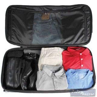 30/ 76cm Hybrid Rolling Travel Duffle Trolley Multi Compartment Bag