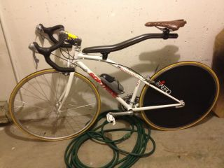 RARE White Softride Norwester 700c Carbon Fiber Bicycle Bike Soft Ride